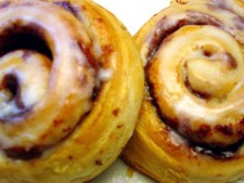 Cinnamon sticky bun